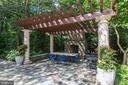 Pergola & Fireplace - 10015 HIGH HILL PL, GREAT FALLS