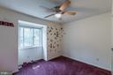 Bedroom 1 - 7956 SILVERADA PL #B, ALEXANDRIA