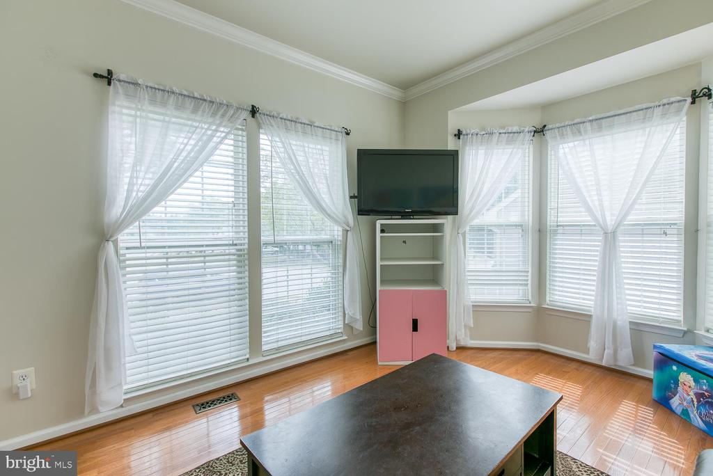 Light Filled LR or Office w/ Bay Window - 7 EMERALD DR, FREDERICKSBURG