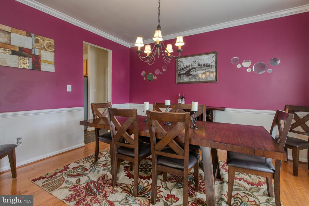 Large Dining Room for Entertaining - 7 EMERALD DR, FREDERICKSBURG