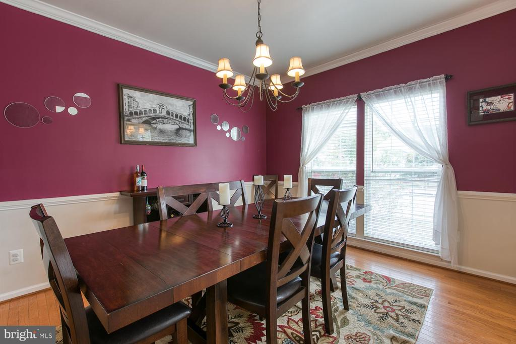 Dining Room has Lg Floor to Ceiling Window - 7 EMERALD DR, FREDERICKSBURG