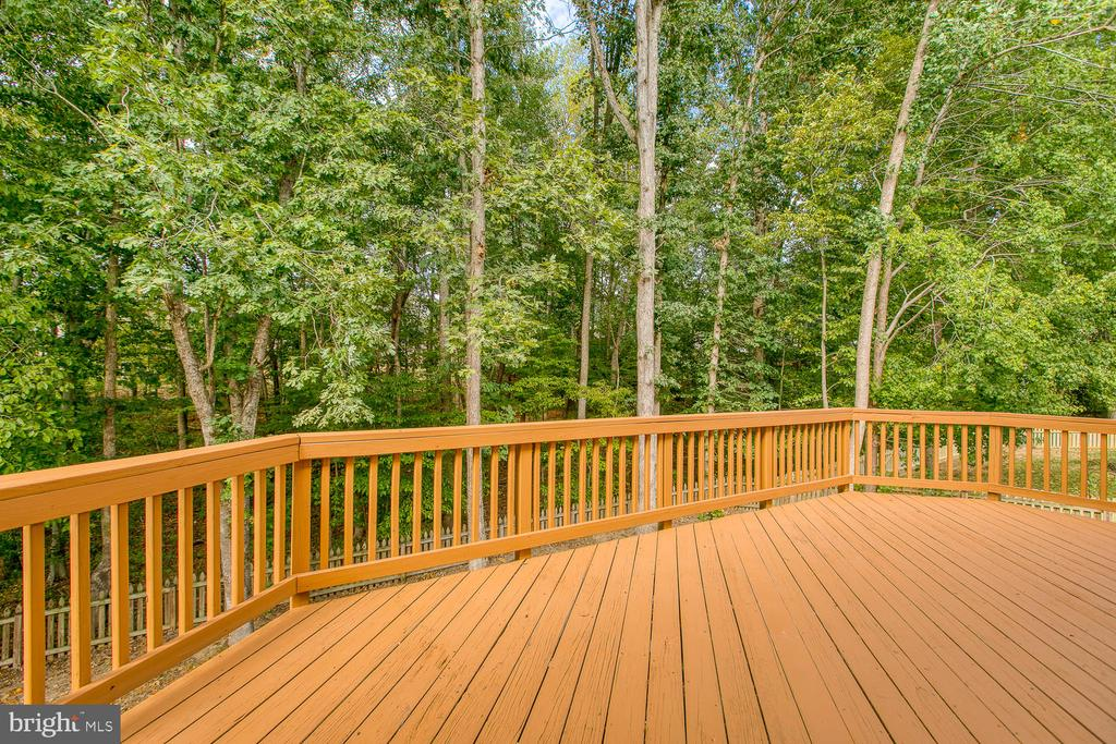 Deck Large Enough for Entertaining - 7 EMERALD DR, FREDERICKSBURG