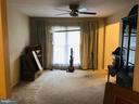 Living Room with hug window - 5884 WOOD FLOWER CT, BURKE