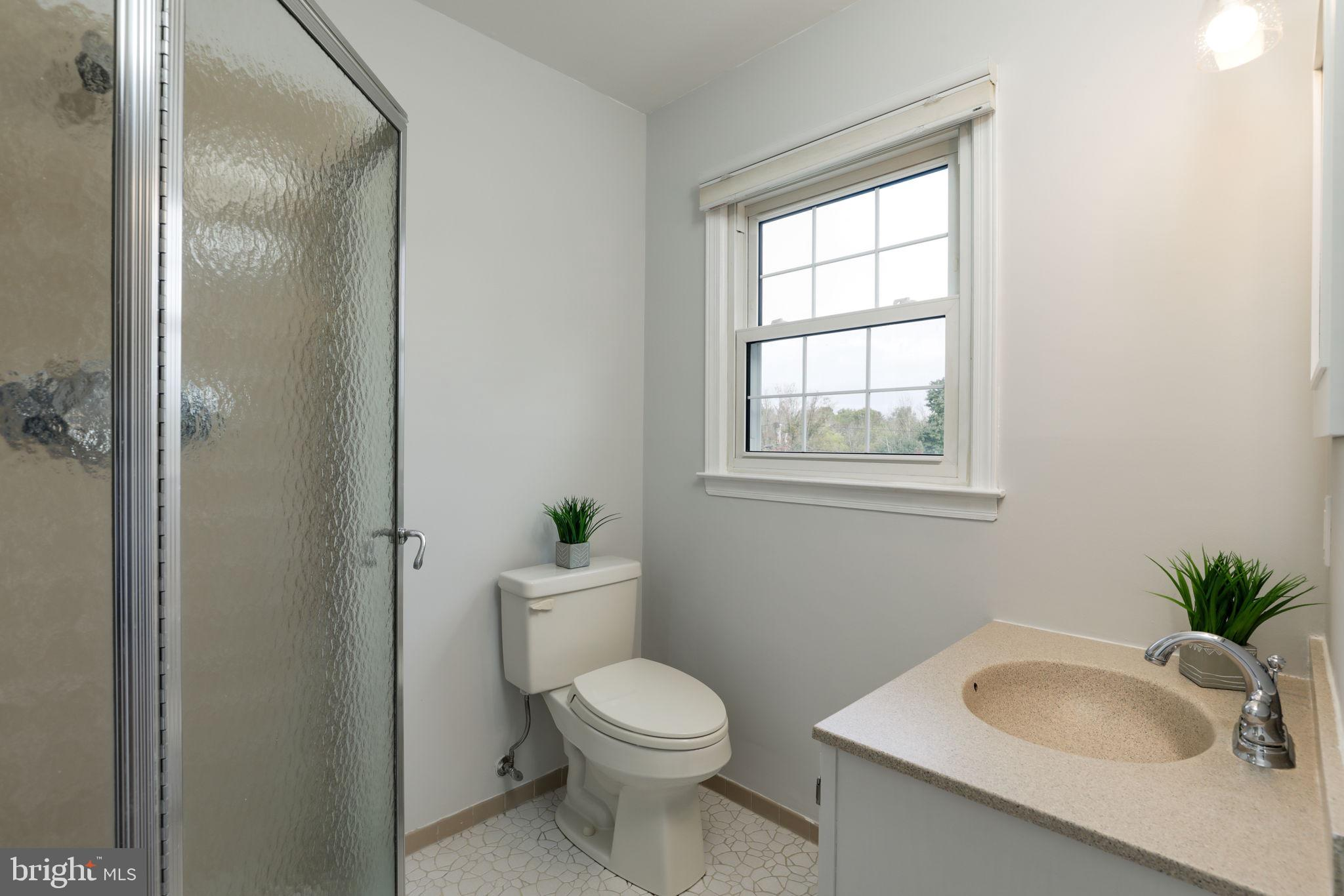 master bath with stall shower