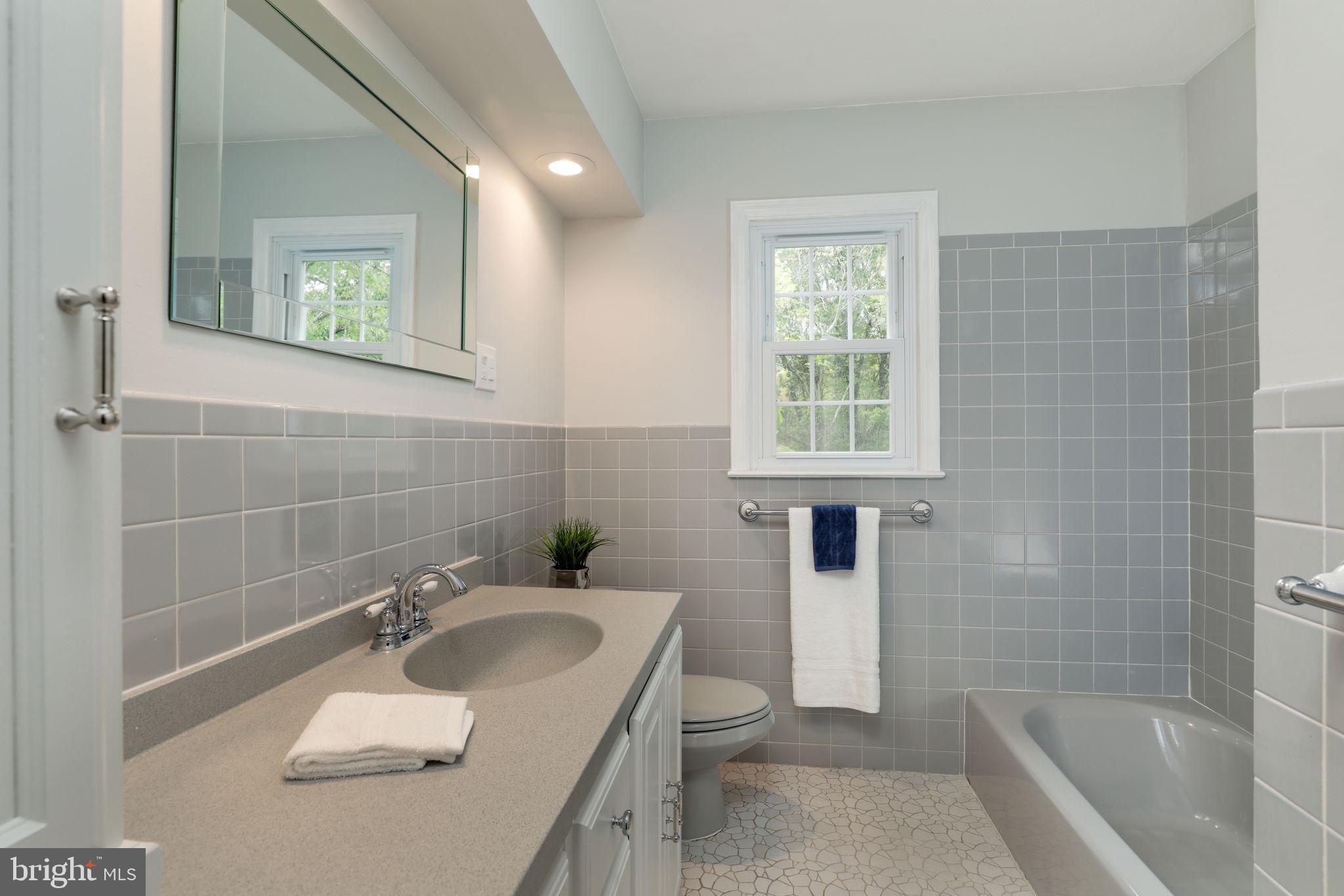 2nd full bath, remodeled