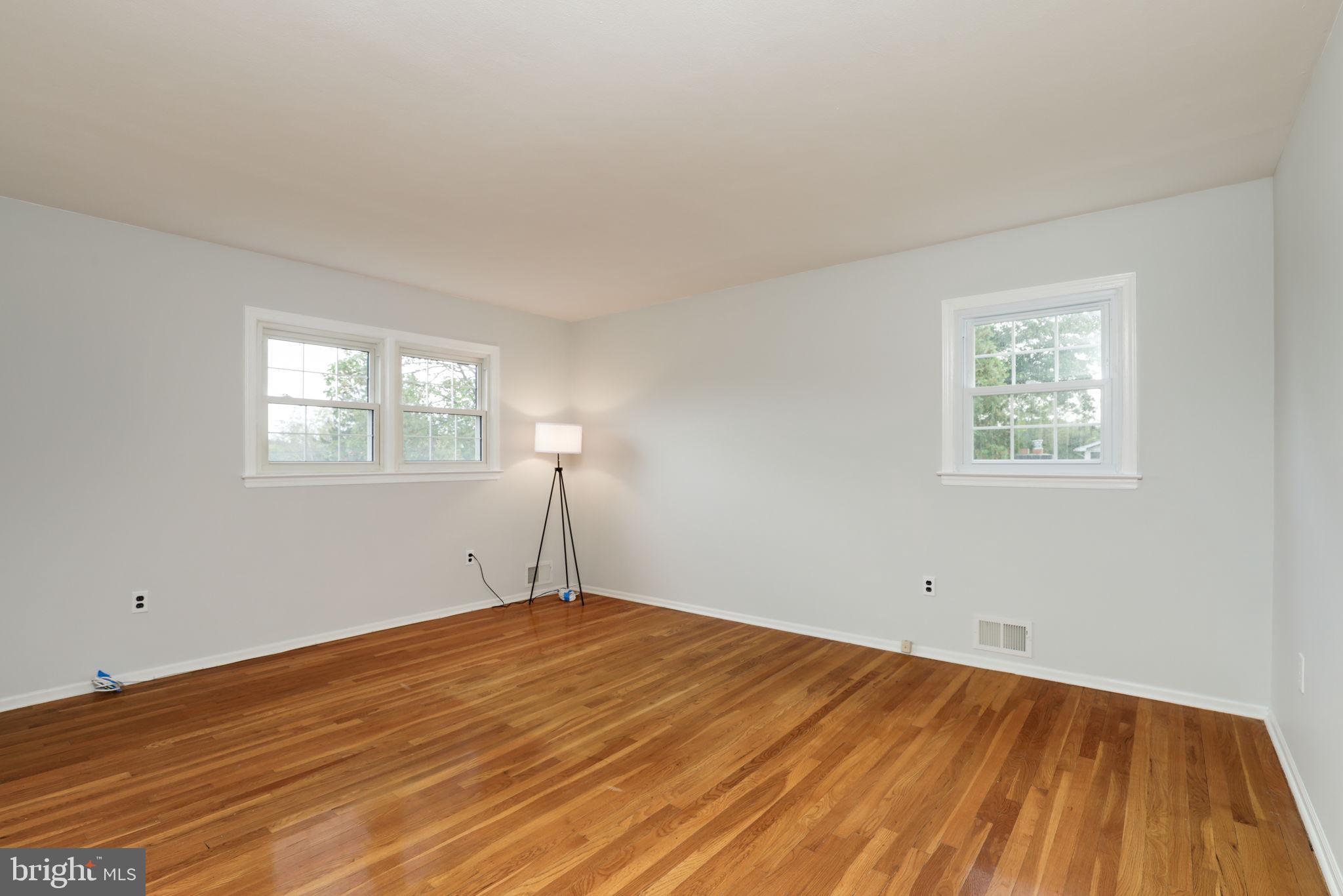 master bedroom hard wood floors