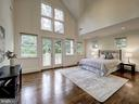 Second Bedroom with High Ceilings and Loft Space - 3617 NEWARK ST NW, WASHINGTON
