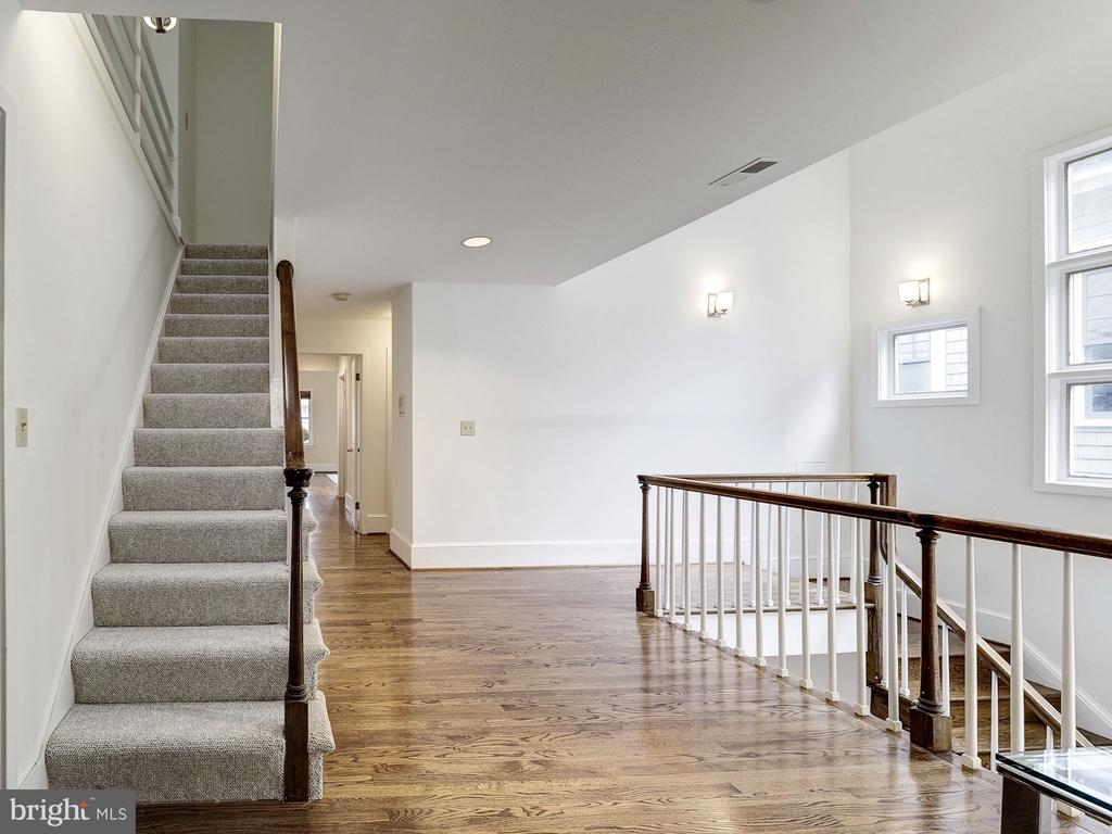 Stairs to Third Level - 3617 NEWARK ST NW, WASHINGTON