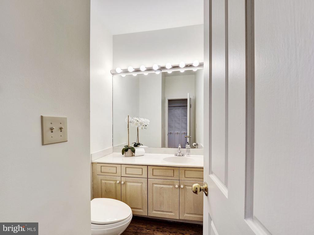 Powder Room - 3617 NEWARK ST NW, WASHINGTON