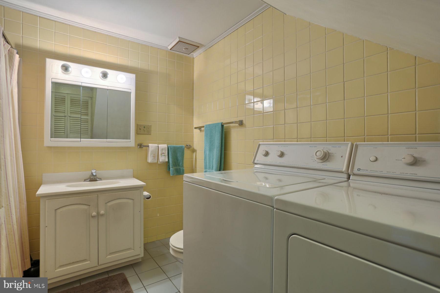 Laundry/Bath View 2