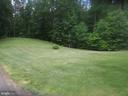 Another view of the yard - 13258 FARMER DR, WOODFORD