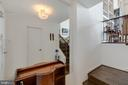 Entry foyer to Unit 550 w/walk-in closet - 1200 NASH ST #550-561, ARLINGTON