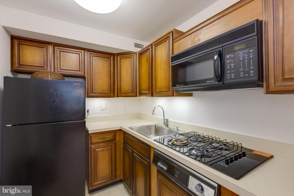 Kitchen of studio - 1200 NASH ST #550-561, ARLINGTON