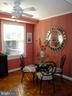 Inviting DR with ceiling fan - 1100 S BARTON ST S #292, ARLINGTON