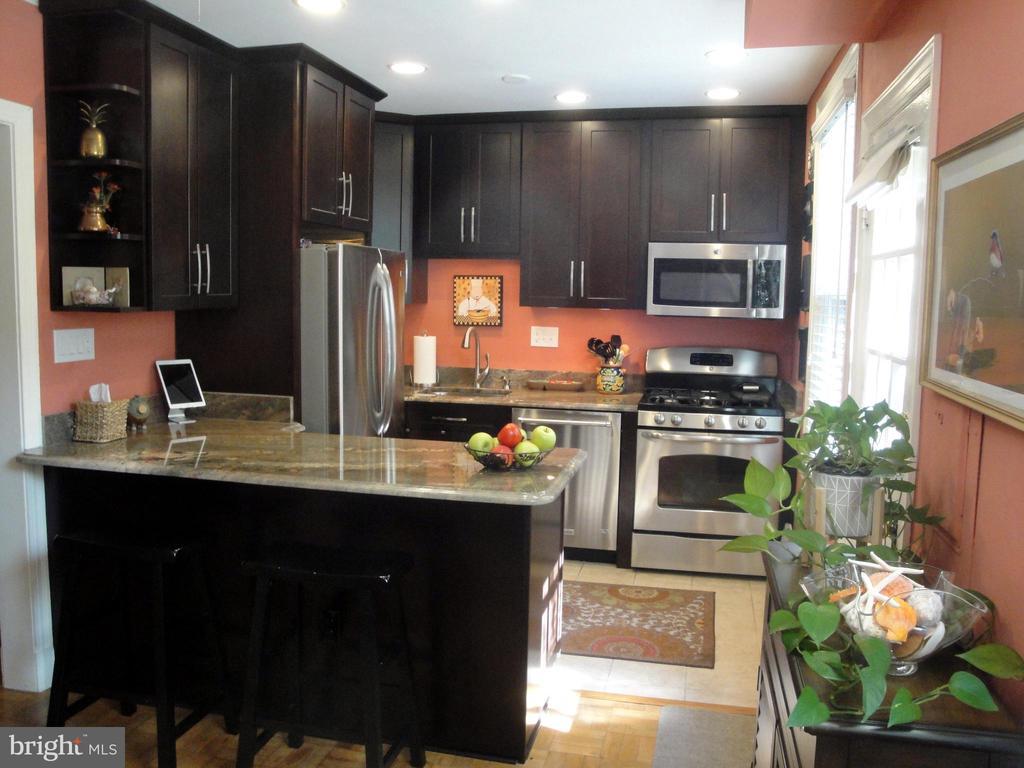 Beautiful kitchen with breakfast bar - 1100 S BARTON ST S #292, ARLINGTON