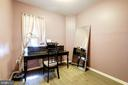 A small bedroom is also great as an office! - 7706 HAYNES POINT WAY #D, ALEXANDRIA