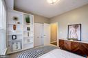 The second bedroom - 7706 HAYNES POINT WAY #D, ALEXANDRIA