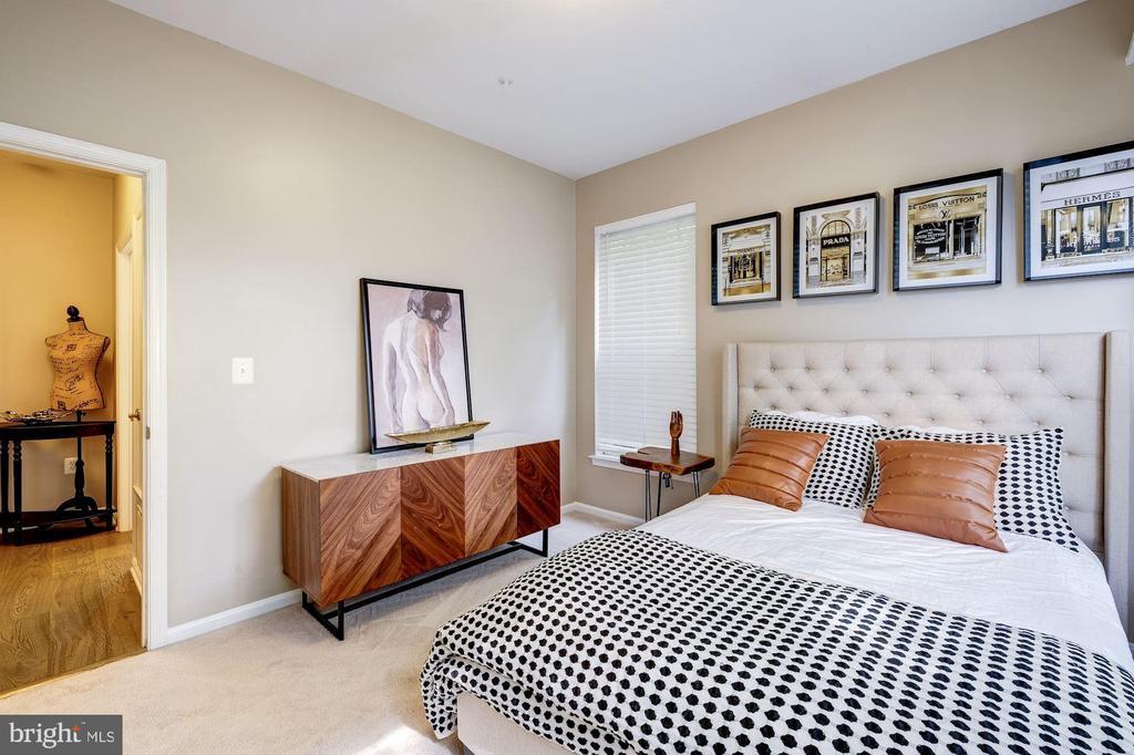 The second bedroom - 7706 HAYNES POINT WAY #D, ALEXANDRIA
