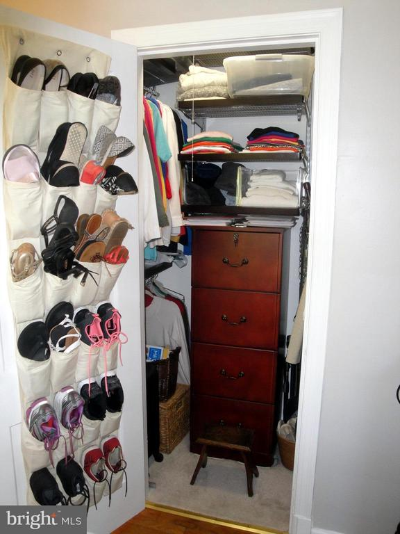 Custom racked main closet - 1100 S BARTON ST S #292, ARLINGTON