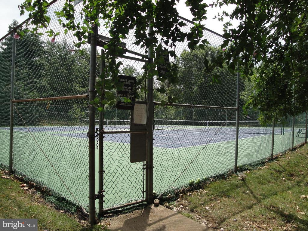 Community tennis courts - 1100 S BARTON ST S #292, ARLINGTON