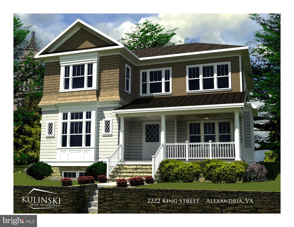 NEW CONSTRUCTION with sweeping views! - 2222 KING ST, ALEXANDRIA