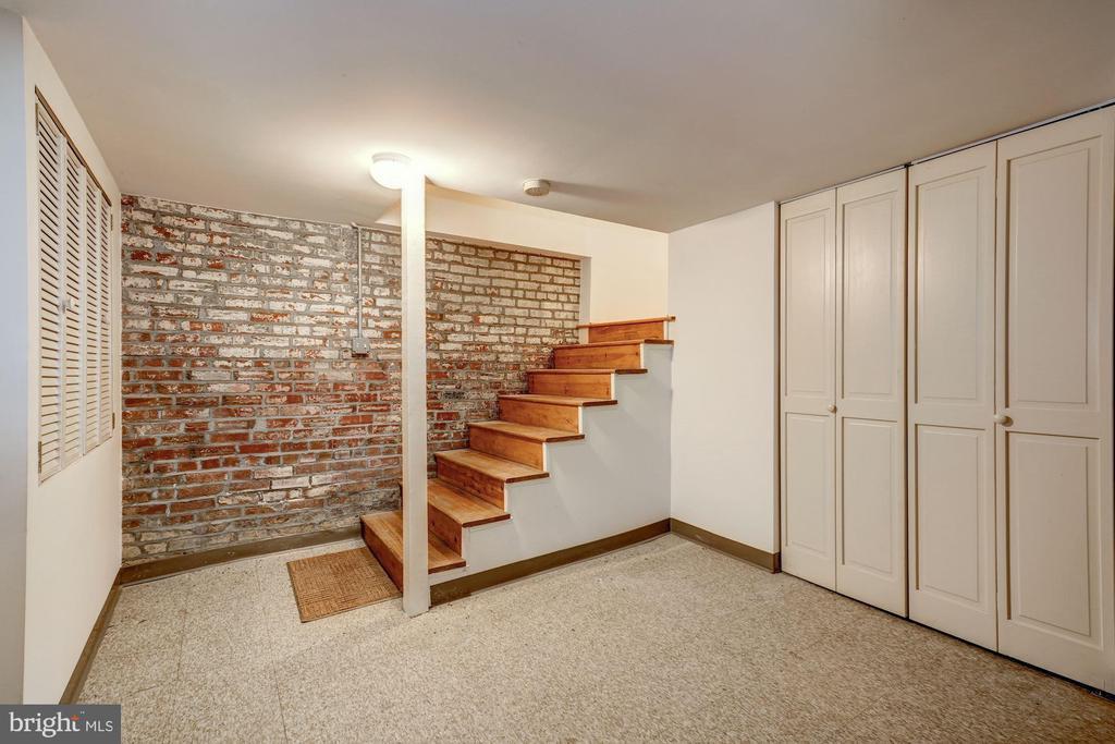 Lower Level Entry Foyer (from Garage) - 2021 N ST NW, WASHINGTON