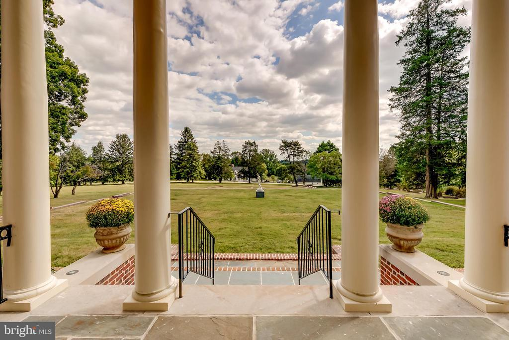 View of nearly 13 acre estate - 416 GARRISON FOREST RD, OWINGS MILLS