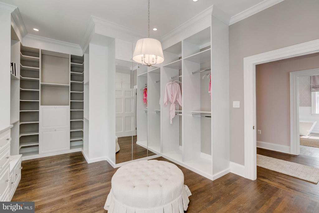 Master Closet - 416 GARRISON FOREST RD, OWINGS MILLS
