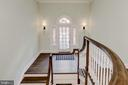 Original Staircase - 416 GARRISON FOREST RD, OWINGS MILLS
