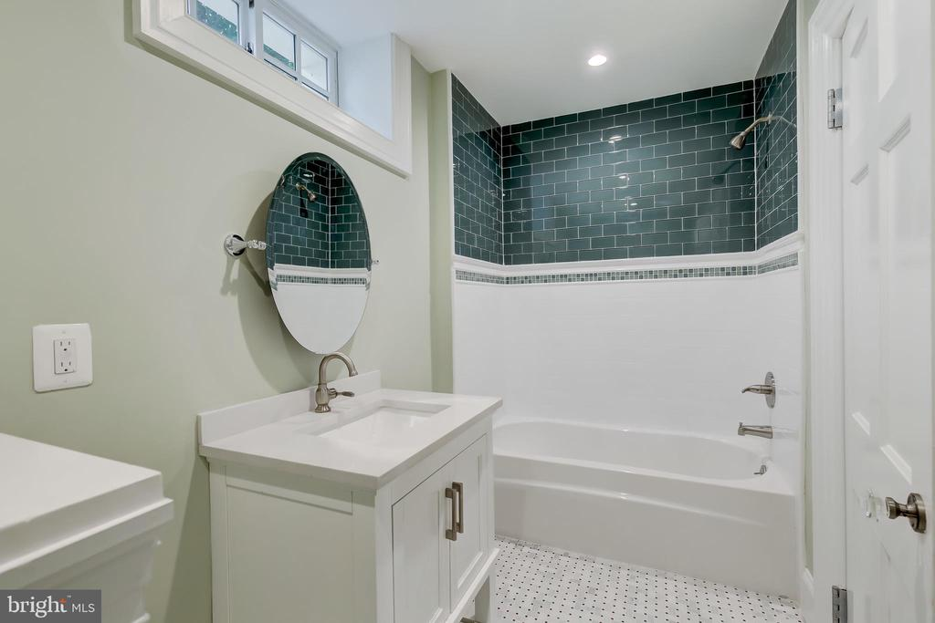Basement Full Bath - 416 GARRISON FOREST RD, OWINGS MILLS