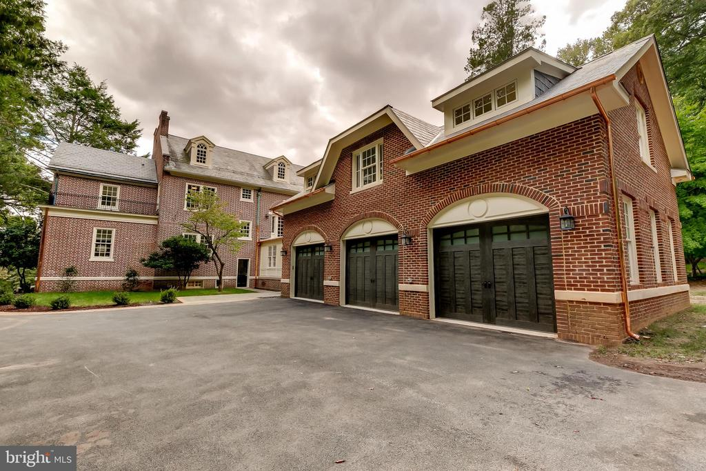 Newly Constructed 3 Car Attached Garage - 416 GARRISON FOREST RD, OWINGS MILLS