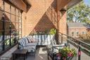 Spacious Balcony - 1055 WISCONSIN AVE NW #3-W, WASHINGTON