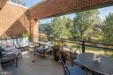 Spacious Balcony overlooking greenery - 1055 WISCONSIN AVE NW #3-W, WASHINGTON
