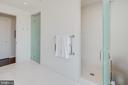 Owner's Bath - 1055 WISCONSIN AVE NW #3-W, WASHINGTON