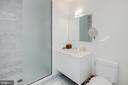 Guest Bath 3 - 1055 WISCONSIN AVE NW #3-W, WASHINGTON