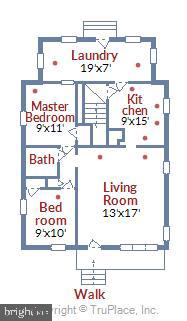 Floorplan - 508 CARROLL AVE, MOUNT AIRY