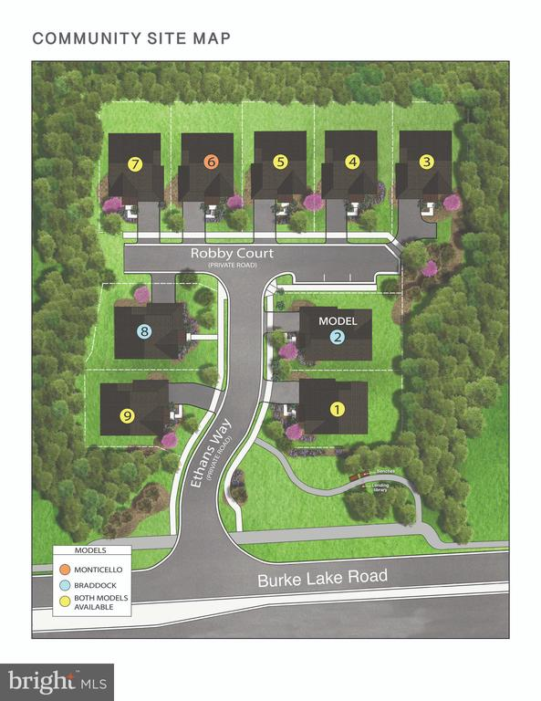 This listing is Lot 4 Lot 6 is under construction - 9570 ROBBY CT, BURKE