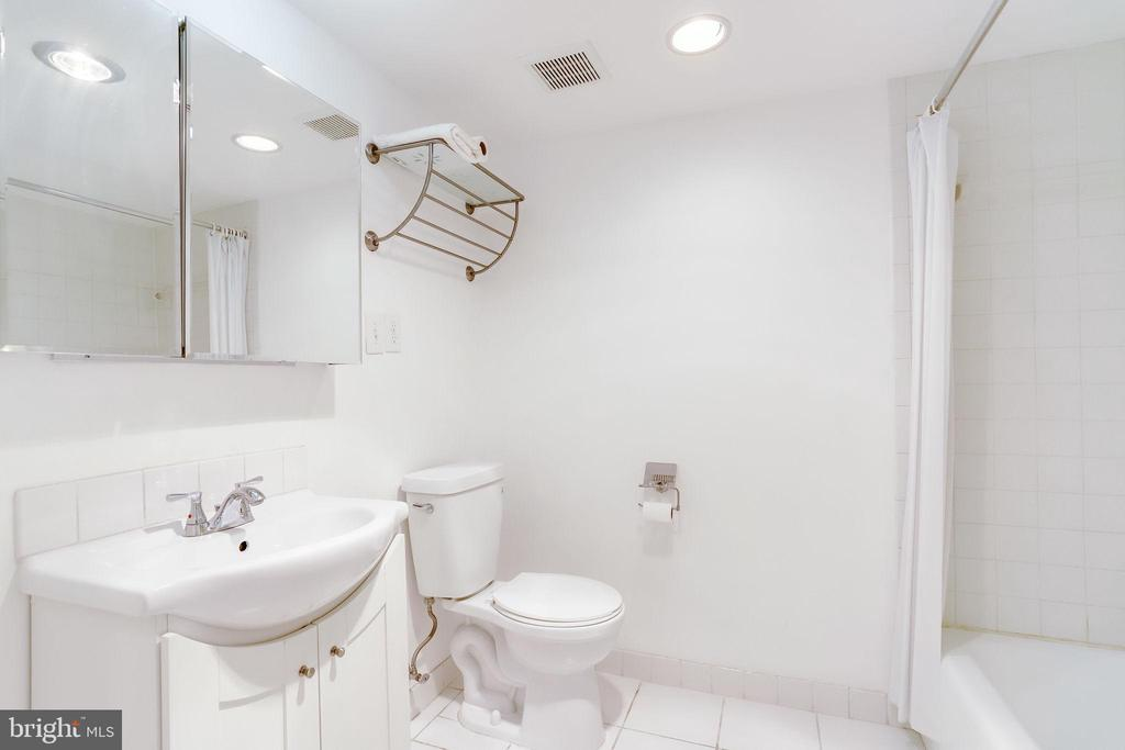 2nd full bathroom - 3800 FAIRFAX DR #302, ARLINGTON