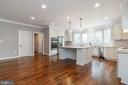Recessed lights & solid surface counter tops. - 1522 CROWELL RD, VIENNA