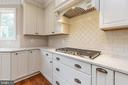 Gas range or cooktop options. - 1522 CROWELL RD, VIENNA