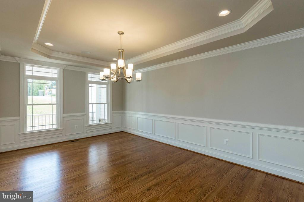 Tray ceilings, deluxe millwork and ceiling details - 1522 CROWELL RD, VIENNA