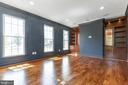 Refined finishes in Study/Library/Office - 1522 CROWELL RD, VIENNA