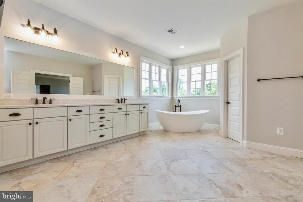 Attention to details in the master bath. - 1522 CROWELL RD, VIENNA