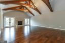 Deluxe millwork provides eye-catching details - 1522 CROWELL RD, VIENNA