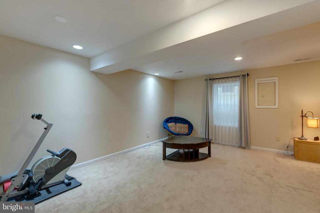 Basement space for den and 4th bedroom - 4449 HOLLY AVE, FAIRFAX