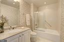 En-suite Bath for Bedroom #3 - 5630 WISCONSIN AVE #501, CHEVY CHASE