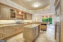 Kitchen with view of Morning/Breakfast room - 5630 WISCONSIN AVE #501, CHEVY CHASE