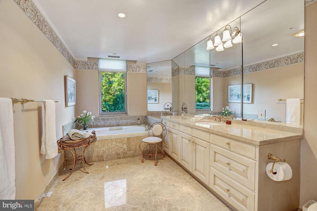 Master Bath - 5630 WISCONSIN AVE #501, CHEVY CHASE
