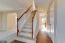 Hardwood Floors  in the entry - 40 LAKESIDE DR, STAFFORD