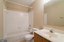 Upper Hall Full Bath - 40 LAKESIDE DR, STAFFORD